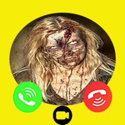Image of Ghost zombie fake Call video and chat