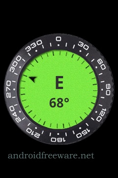 A simple analog and digital compass