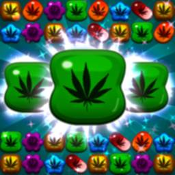 Image of Crush Weed Match 3 Candy Jewel