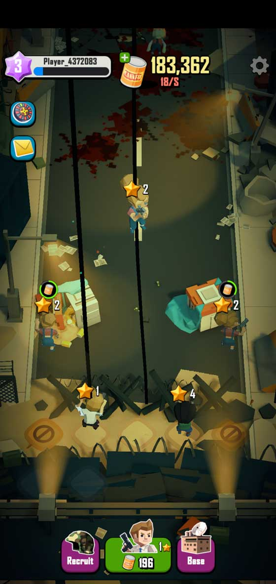 Dead Spreading Idle screenshot 1