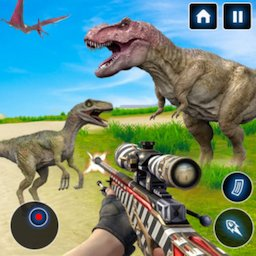 Image of Deadly Dinosaur Hunter Revenge Fps Shooter Game 3D