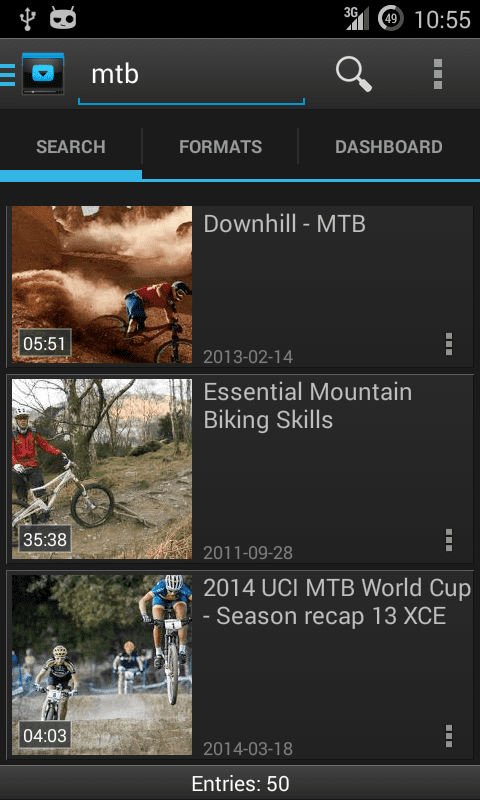 YouTube Downloader for Android tangkapan layar 1