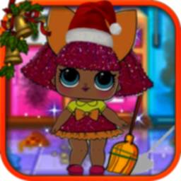 Dolls Makeover Room icon