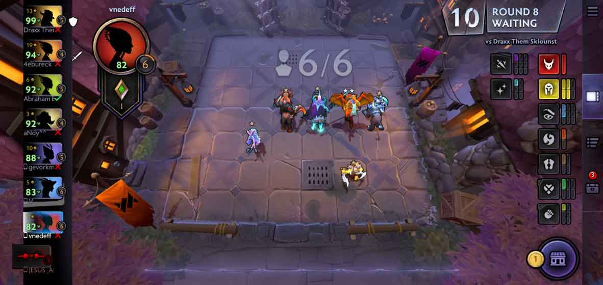 Dota Underlords gameplay