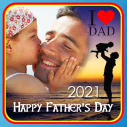 Image of Father's Day Photo Frame 2019