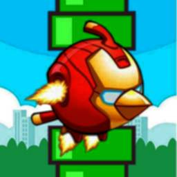 Image of Flappy Iron Bird 🐦 Super Heroes Revenge Birds
