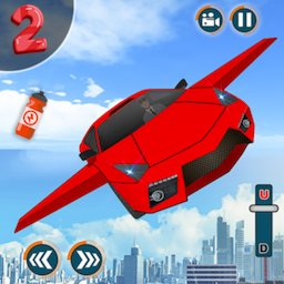 Image of Flying Car Shooting Game