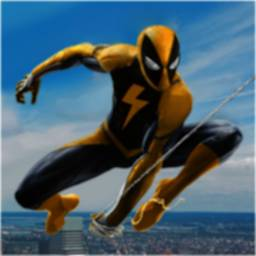 Image of Flying Spider Rope Hero