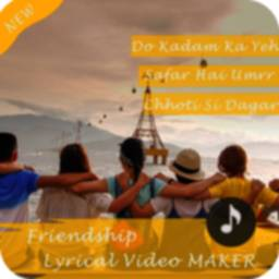 Image of Friendship Lyrical Video Maker