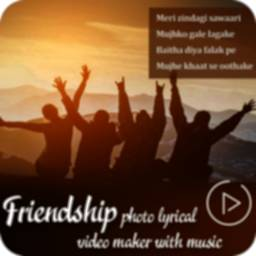 Image of Friendship Photo Lyrical Video Status Maker 2020