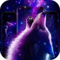 Image of Galaxy Wolf live wallpapers