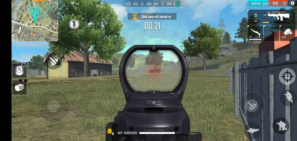 Free Fire Advanced Server