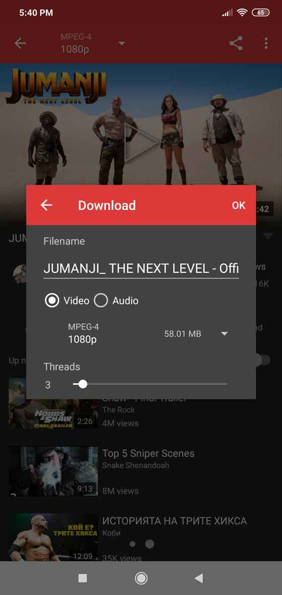 Genyoutube for Android - Download