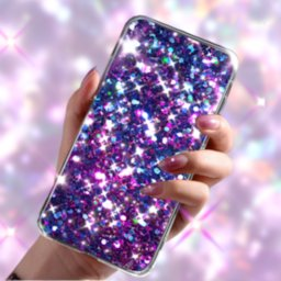 Image of Glitter Live Wallpaper Kira Glitzy