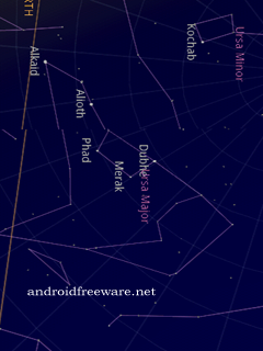 Google Sky Map: A star map for Android.
