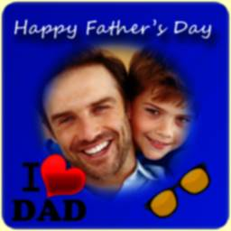 Image of Happy Father's Day Frame