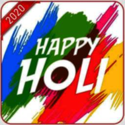 Image of Happy Holi Sticker 2020