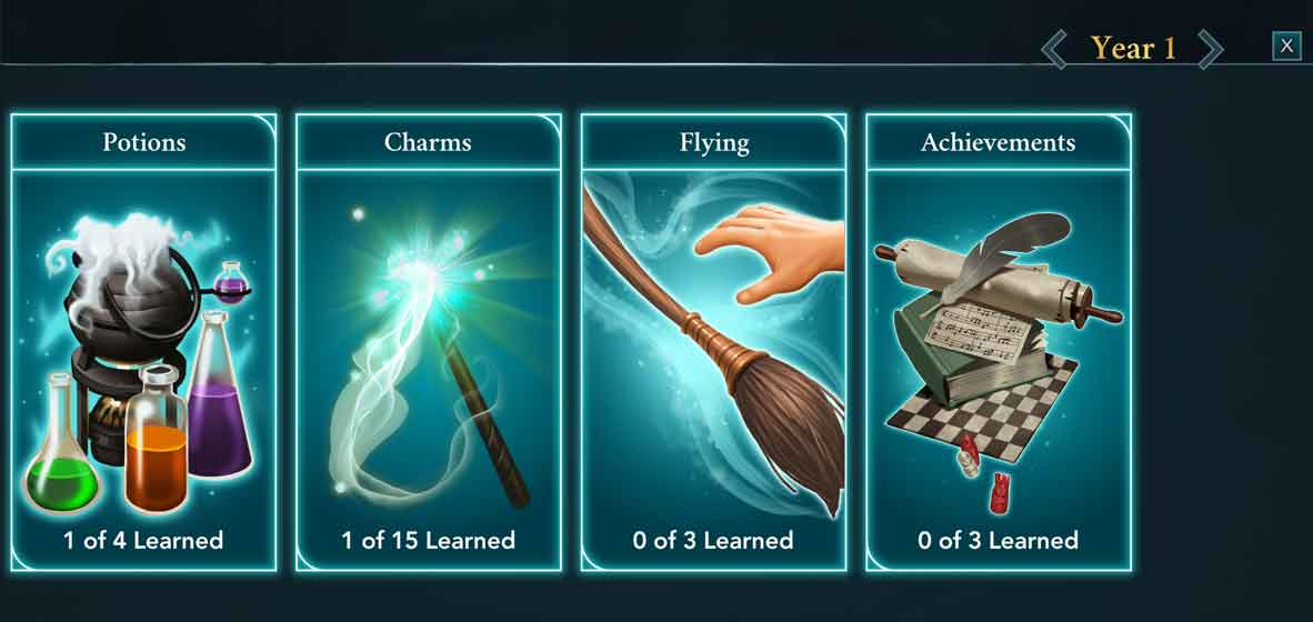 Become a wizard or witch