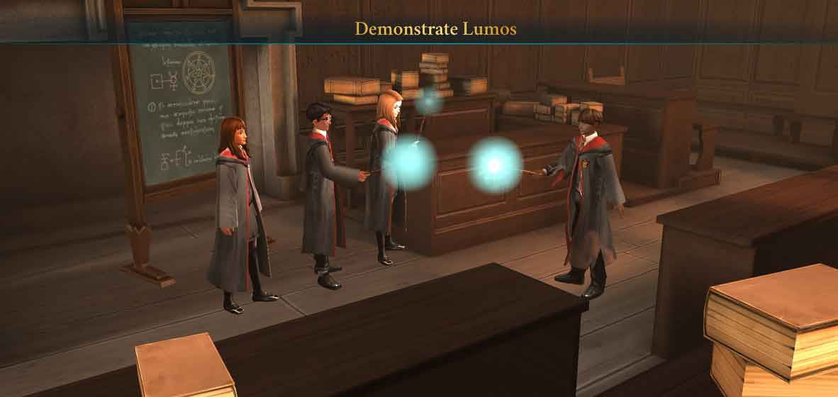Harry Potter: Hogwarts Mystery features