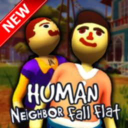 Image of Hello Human Fall Neighbor Flat Mod