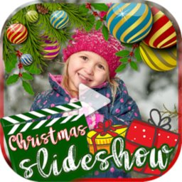 Image of Merry Christmas Video Christmas Photo Video Maker