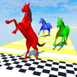 Image of Horse Run Fun Race 3D Games