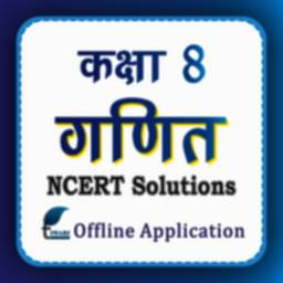 Image of NCERT Solutions for Class 8 Maths in Hindi Offline