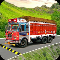 Image of Indian Real Cargo Truck Driver -New Truck Games 21