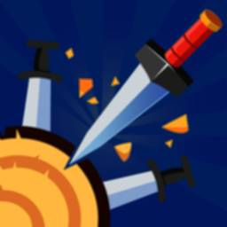 Knife throw game 2020 icon