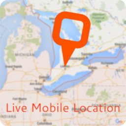 Image of Live Mobile Location and GPS Coordinates