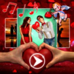 Image of Love Video Maker with Music 💓 Romantic Frames