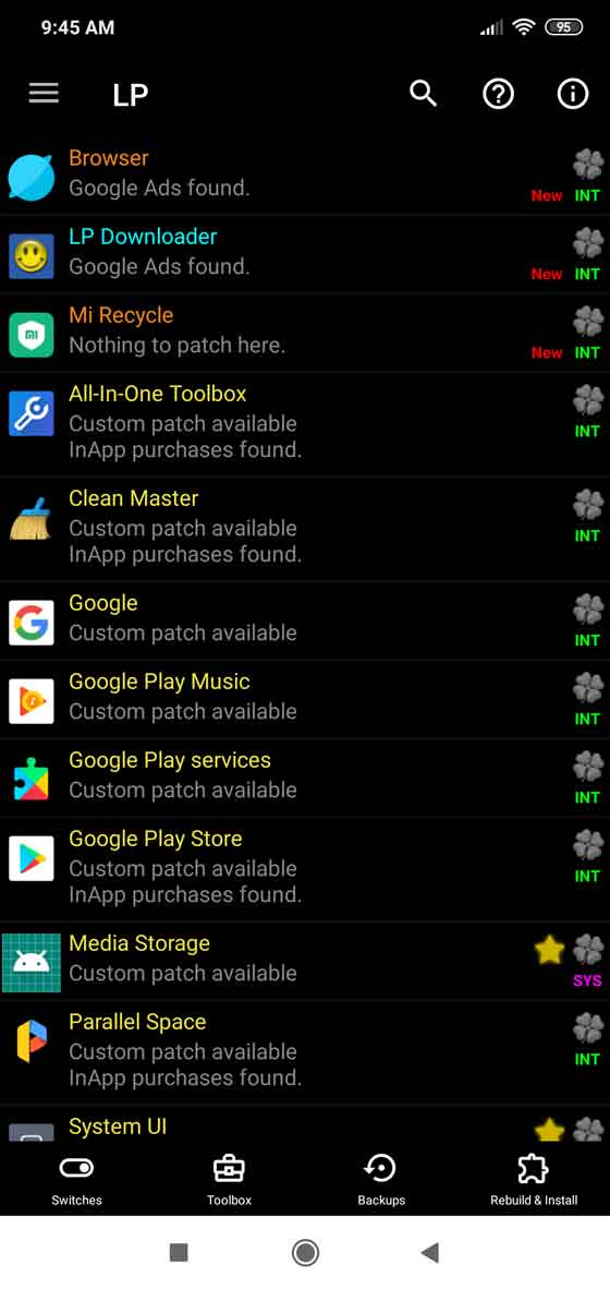 Full control over your Android device