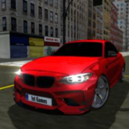 Image of M5 Modified Sport Car Driving