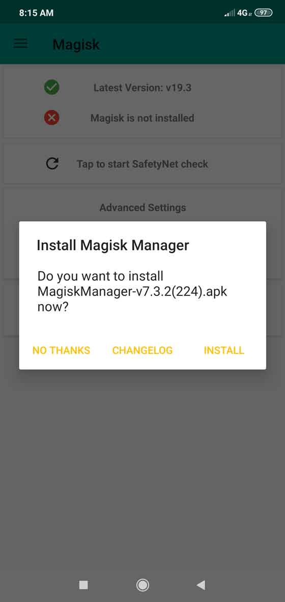 Magisk screenshot 2