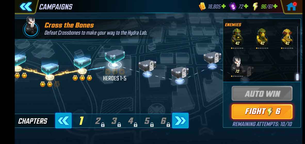 MARVEL Strike Force screenshot 3