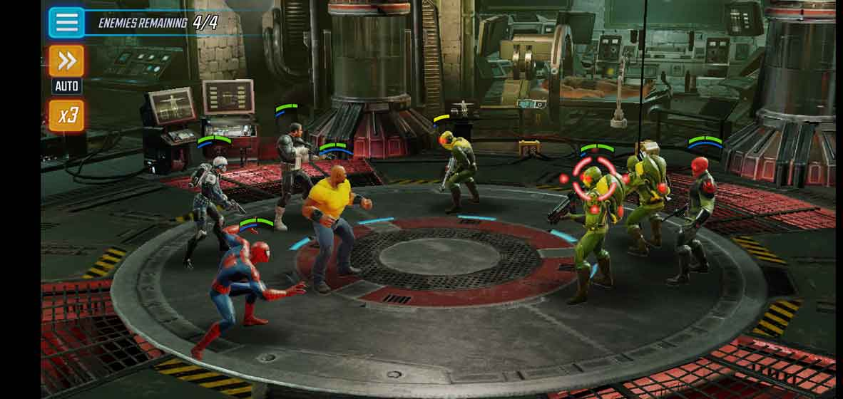 MARVEL Strike Force screenshot 7