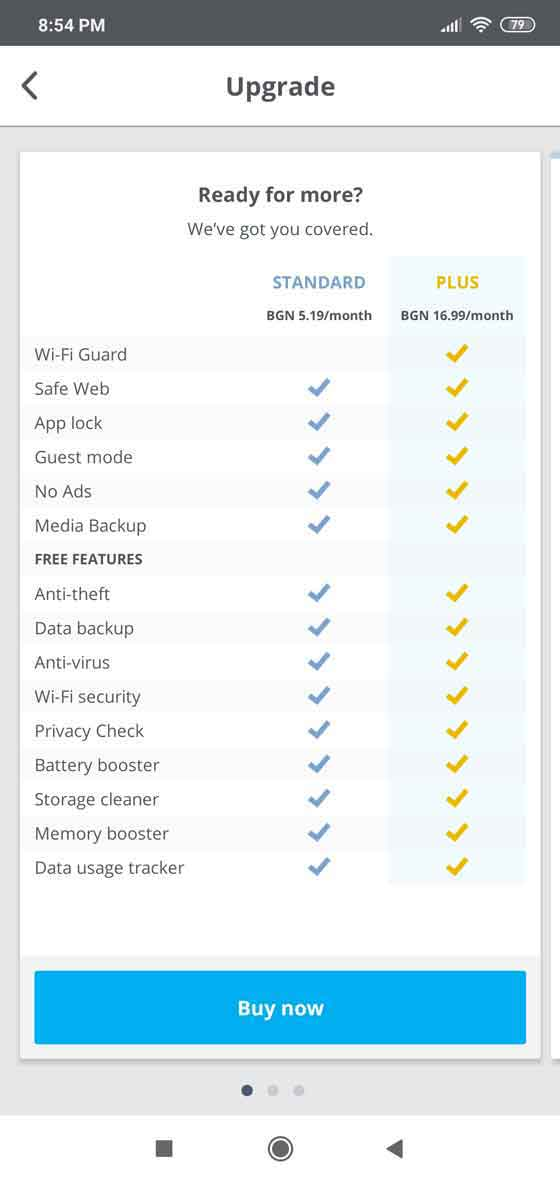 McAfee Mobile Security