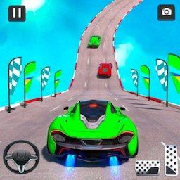 Mega Ramp Car Racing Stunts 3D