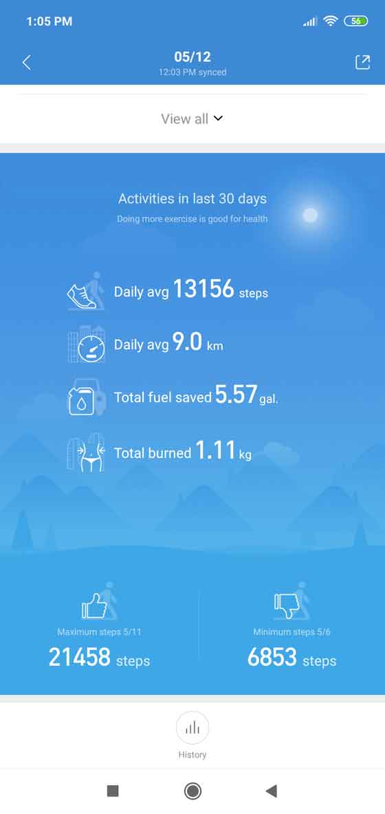 Mi Fit screenshot 3