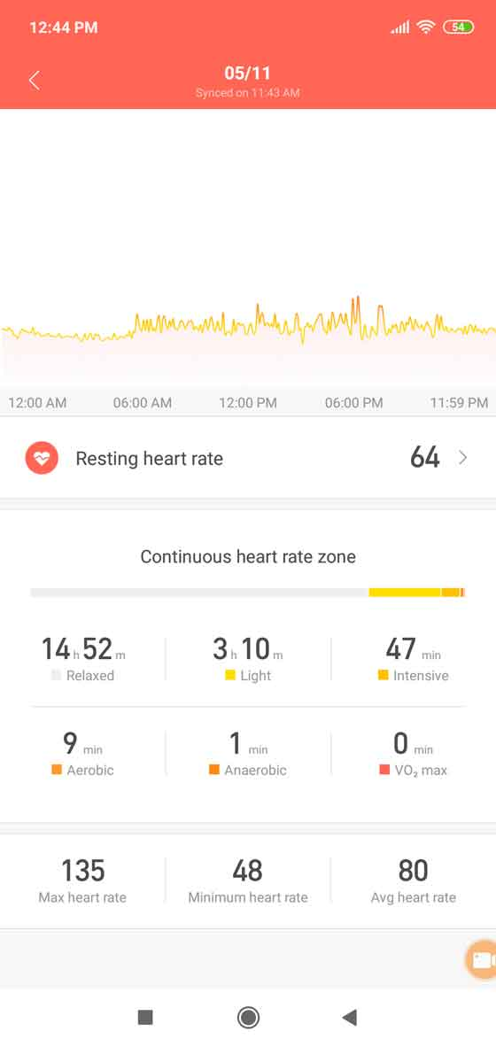 Mi Fit screenshot 6