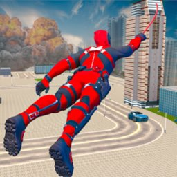 Image of Miami Rope Hero Spider Man Open World Gangster