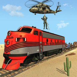 Image of Mission Counter Attack Train Robbery Shooting Game