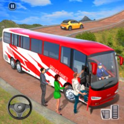 Image of Modern Bus Drive 3D Parking new Games-FFG Bus Game