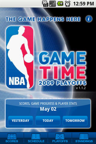 NBA Game Time is the first, official live basketball app from the NBA for Android.