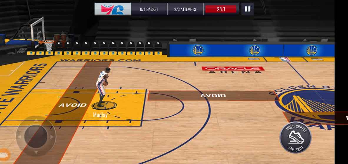 How to play NBA LIVE mobile