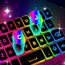 Image of Neon LED Keyboard