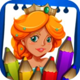 Image of Princess Coloring Book