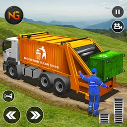 Image of Offroad Garbage Truck