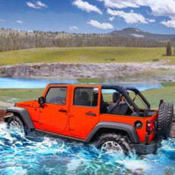 Image of Offroad Jeep Driving & Parking