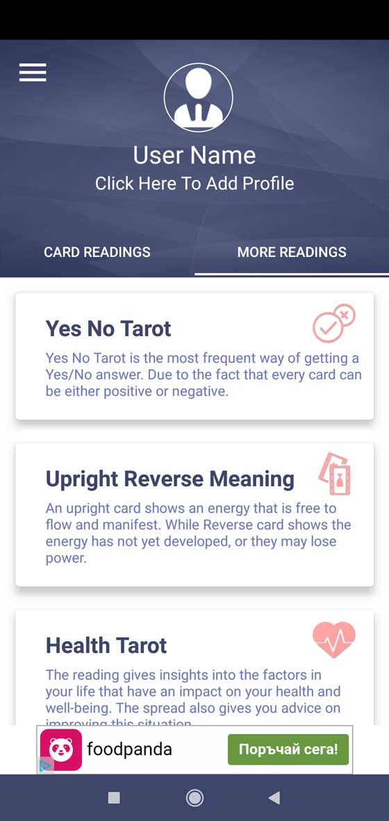 Tarot Reading screenshot 2